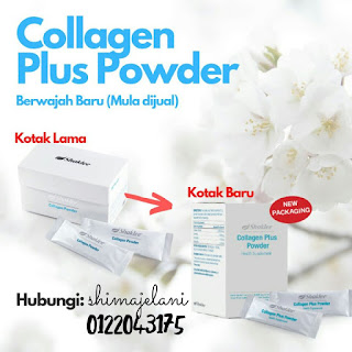 Collagen Plus Powder Shaklee Dah Ada Stok !