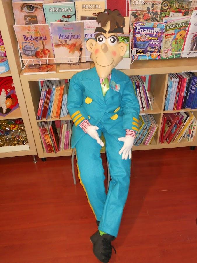 como hacer paso a paso un muñeco para carnaval
