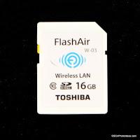 Toshiba FlashAir W-03 Wireless LAN SDHC UHS-I Review