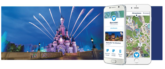 disneyland paris app