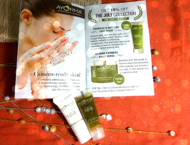 Ayorma Spa Daily Scrub and Face Wash