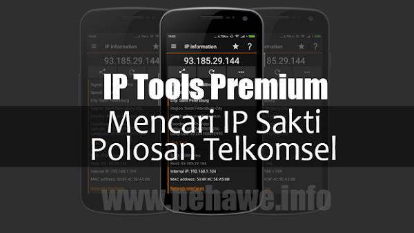 Cara Mencari IP Sakti Polosan Telkomsel Android