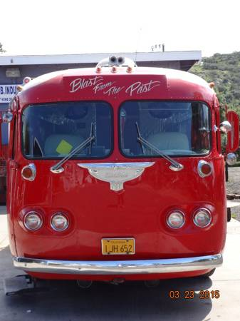 Motorhomes For Sale In San Diego >> Used RVs 1946 Flxible Clipper Bus For Sale by Owner