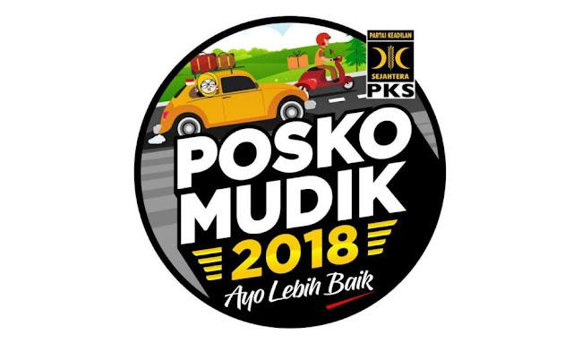 posko mudik pks 2018