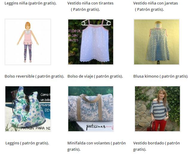 coser, labores, patrones de costura