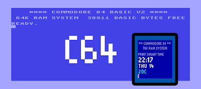C64 - watchface para Pebble by dPunisher