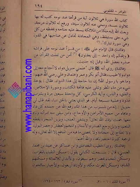 Air Hujan sebagai Obat Ampuh dan Mujarab dari Kitab Nawadir