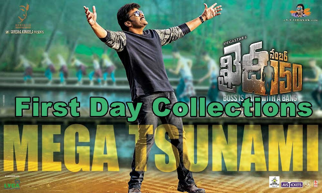 Khaidi No 150 First Day Collections Worldwide Boxoffice Report Official - Allu Aravind