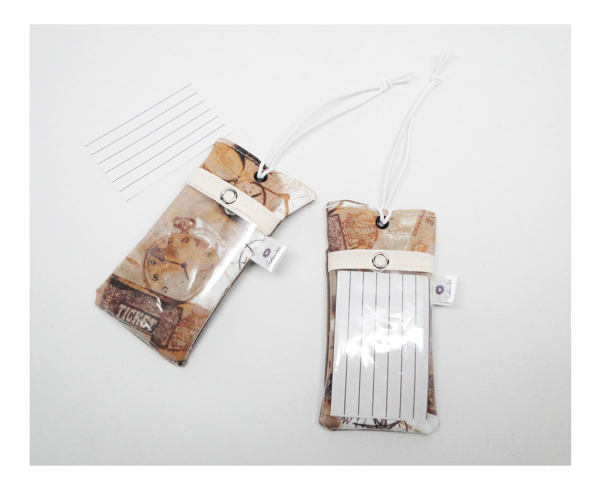 8c2895a9c tags identificadoras para malas de viagem  também em estampas masculinas!