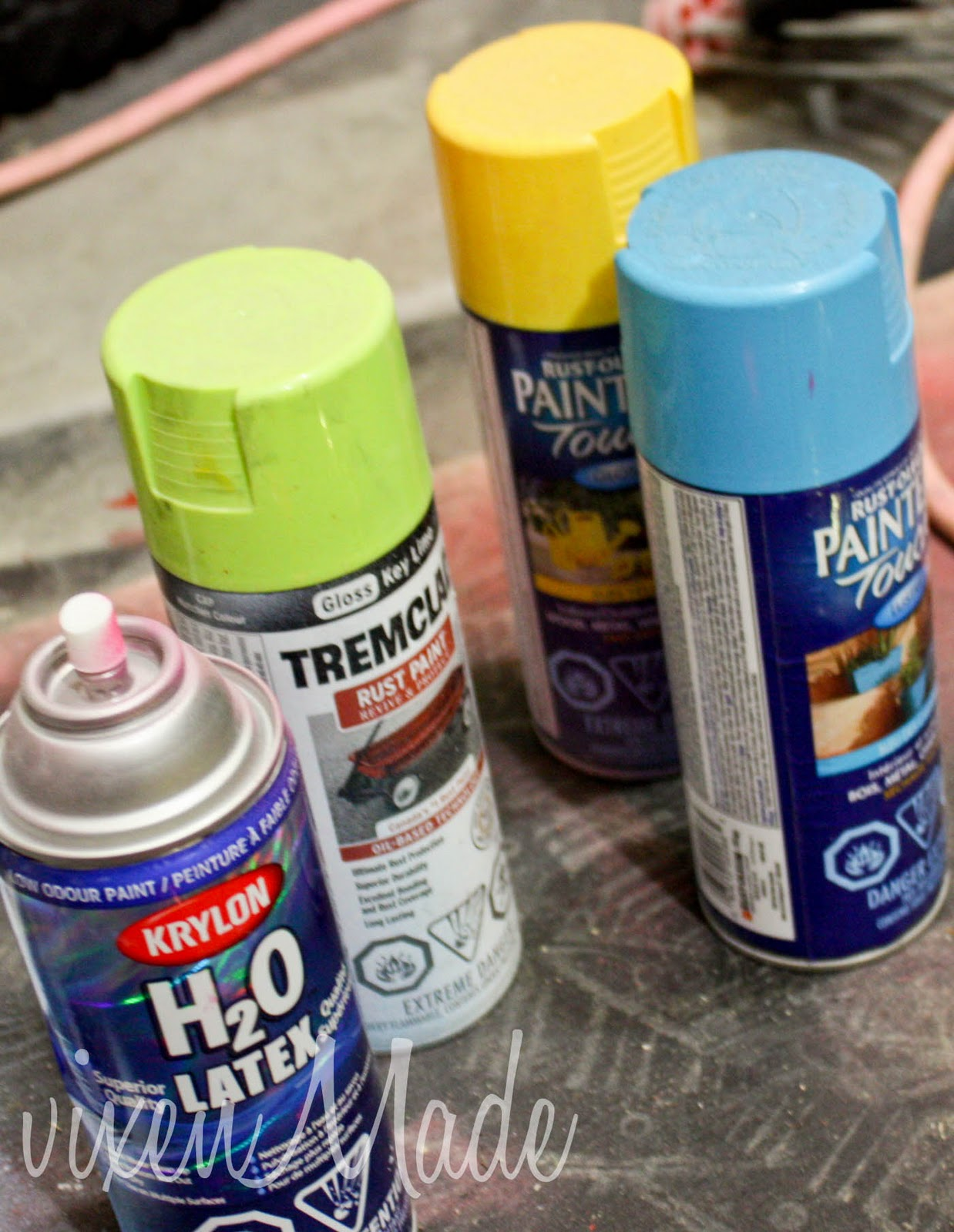 How Much Spray Paint Do I Need? - vixenmade parties