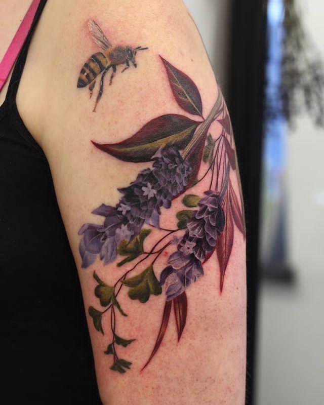 tattoo lavender