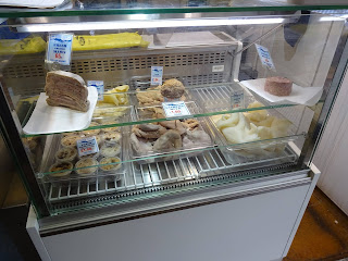 Tripe Counter at Ramsdens Fishmongers at Leeds Kirkgate Market