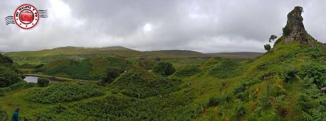 Escocia, Skye Island, Fairy Glen