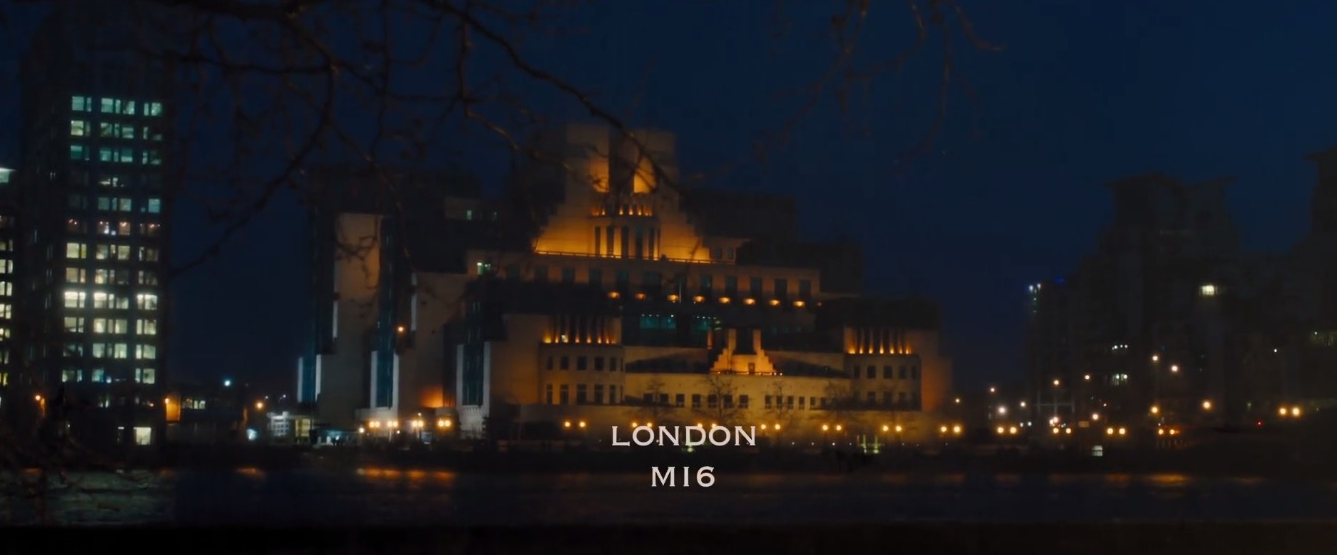 James Bond Locations: Mi6 Headquarters, Vauxhall cross