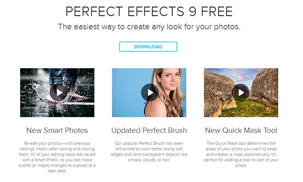 Free Perfect Effects 9 For Photoshop, Elements and Lightroom