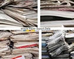 Paper export data
