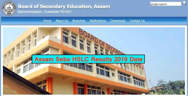 assam-seba-hslc-results-2019.sebaonline.org
