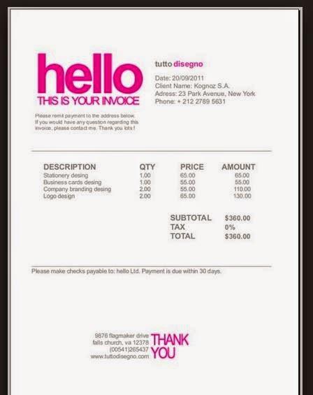 hnd media makeup task 3 h invoice template. Black Bedroom Furniture Sets. Home Design Ideas