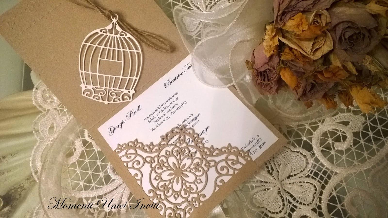 Partecipazioni Matrimonio Country Chic Fai Da Te : Tre modelli di partecipazioni in carta kraft per il tuo matrimonio