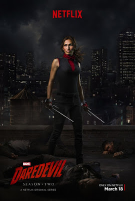 Marvel's Daredevil Television Series Season 2 Character Poster Set by Netflix