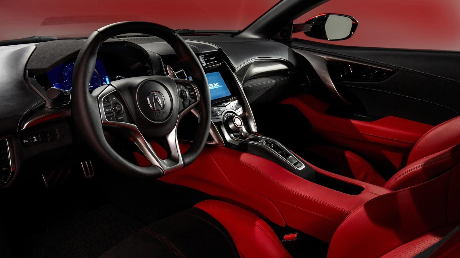 Acura NSX 2017 Interior