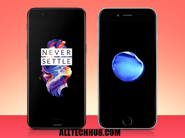 compare-oneplus-5-vs-apple-iphone-7-Plus-Size-Specs-Camera-review-Price
