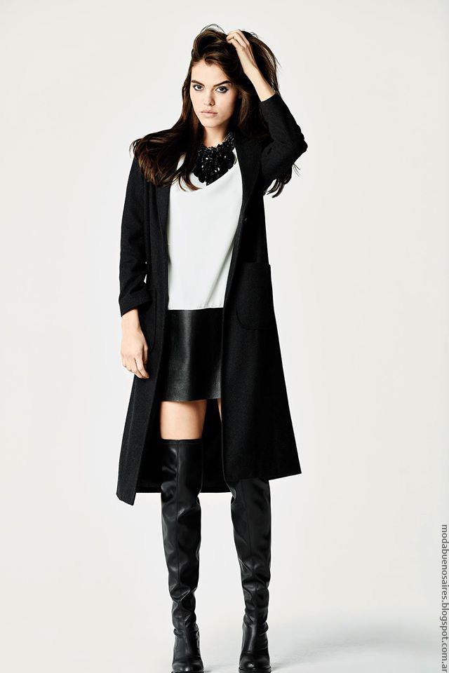 Moda invierno 2016 ropa de mujer. Naima otoño invierno 2016.