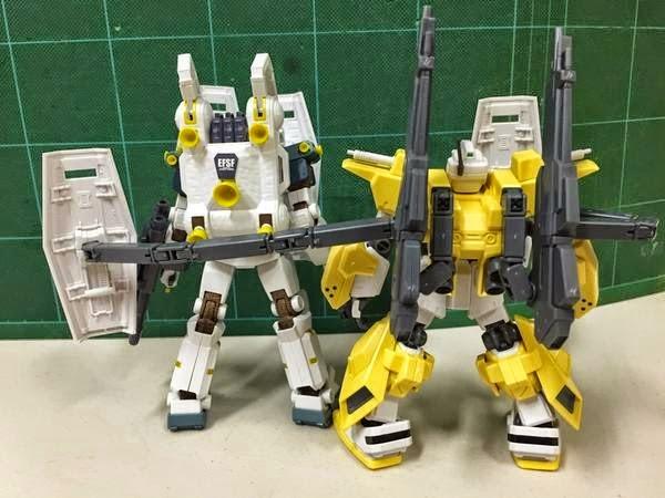 Gundam Family Hg 1 144 Powered Gm Cardigan Review