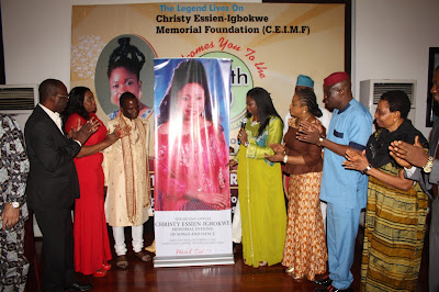 How Xty Essien Igbokwe 'Resurrected'  …at Memorial Evening!