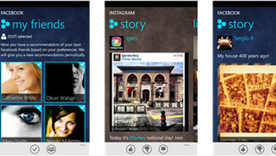TwentyOne social Windows Phone