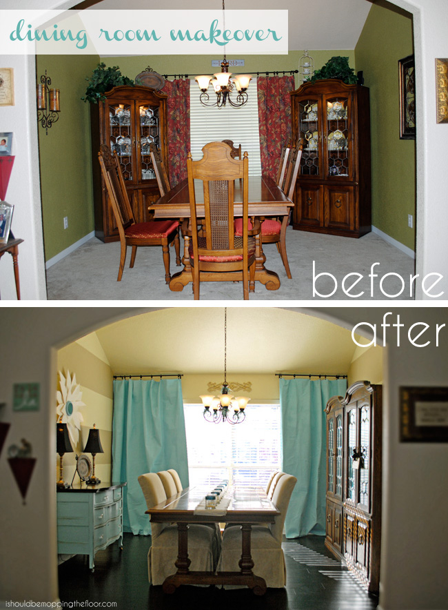 Brand new i should be mopping the floor: Dining Room Makeover {On a Budget} DC42