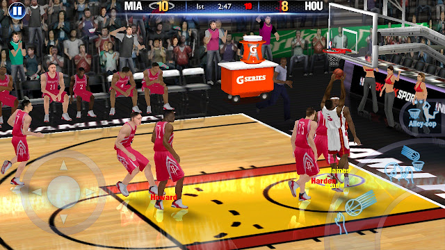 NBA 2k14 PSP ISO CSO for PPSSPP Android and iOS