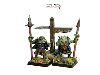 [EN/PL] The Orcs continued! / O orkach ciąg dalszy!  (Warmonger Miniatures Orc #2)