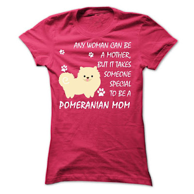 Pomeranian Mom T Shirts