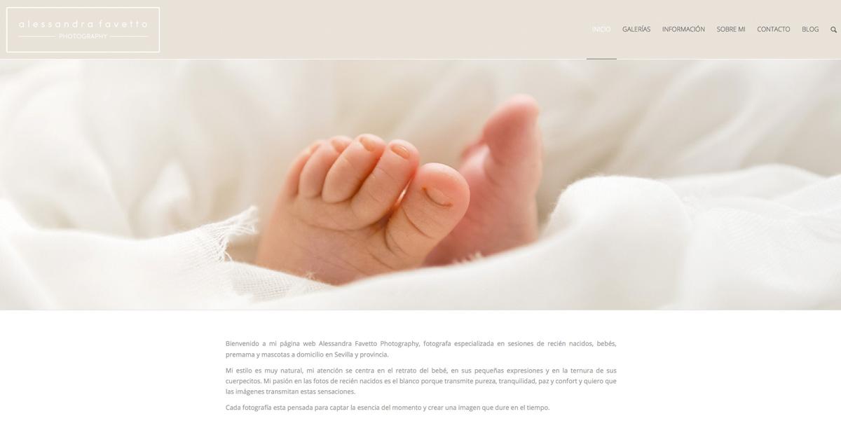 Fotografia de recién nacidos y premama a domicilio en Sevilla y provincia