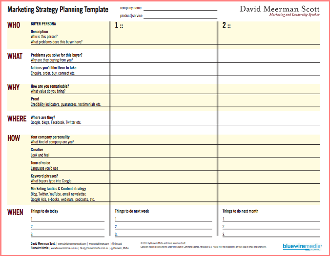 Strategic Plan Template Word Template Examples – Microsoft Strategic Plan