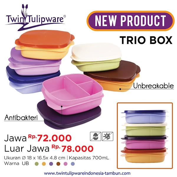 Trio Box - Produk Baru Tulipware 2017