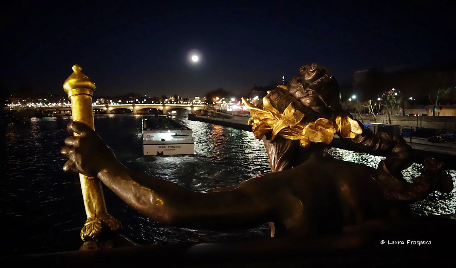 pleine lune sur le pont © Laura Prospero