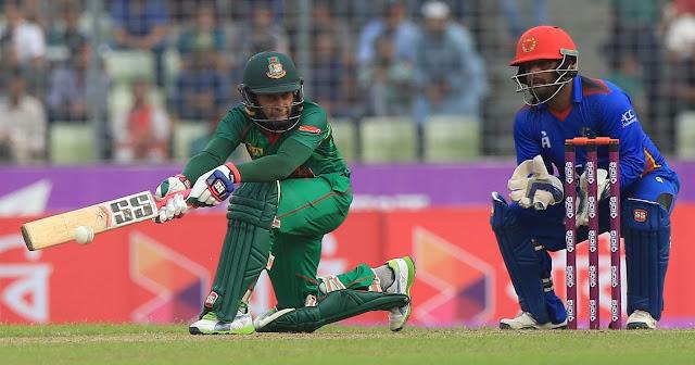Ban vs Afg 3rd ODI Full Scorecard 2016