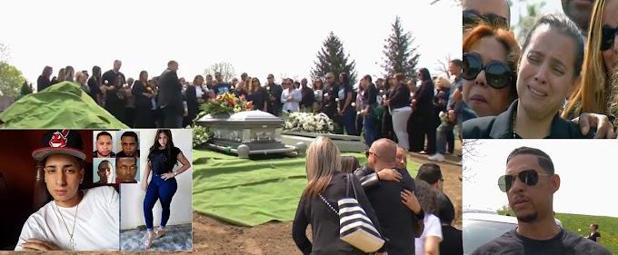 Desgarradoras escenas de dolor en cementerio de Yonkers durante el entierro de empresario asesinado en Bonao