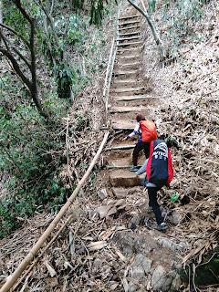 Trekking awal setelah dari gerbang