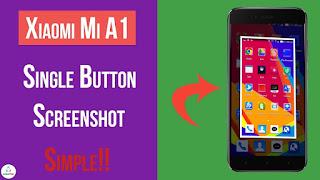 Handphone adalah produk yang sejak awal kemunculannya telah mencuri banyak perhatian dari Cara Screenshot Mi A1 Yang Mudah