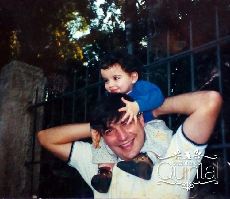Meu marido e minha primeira filha, Fernanda. Xodós da minha vida =)