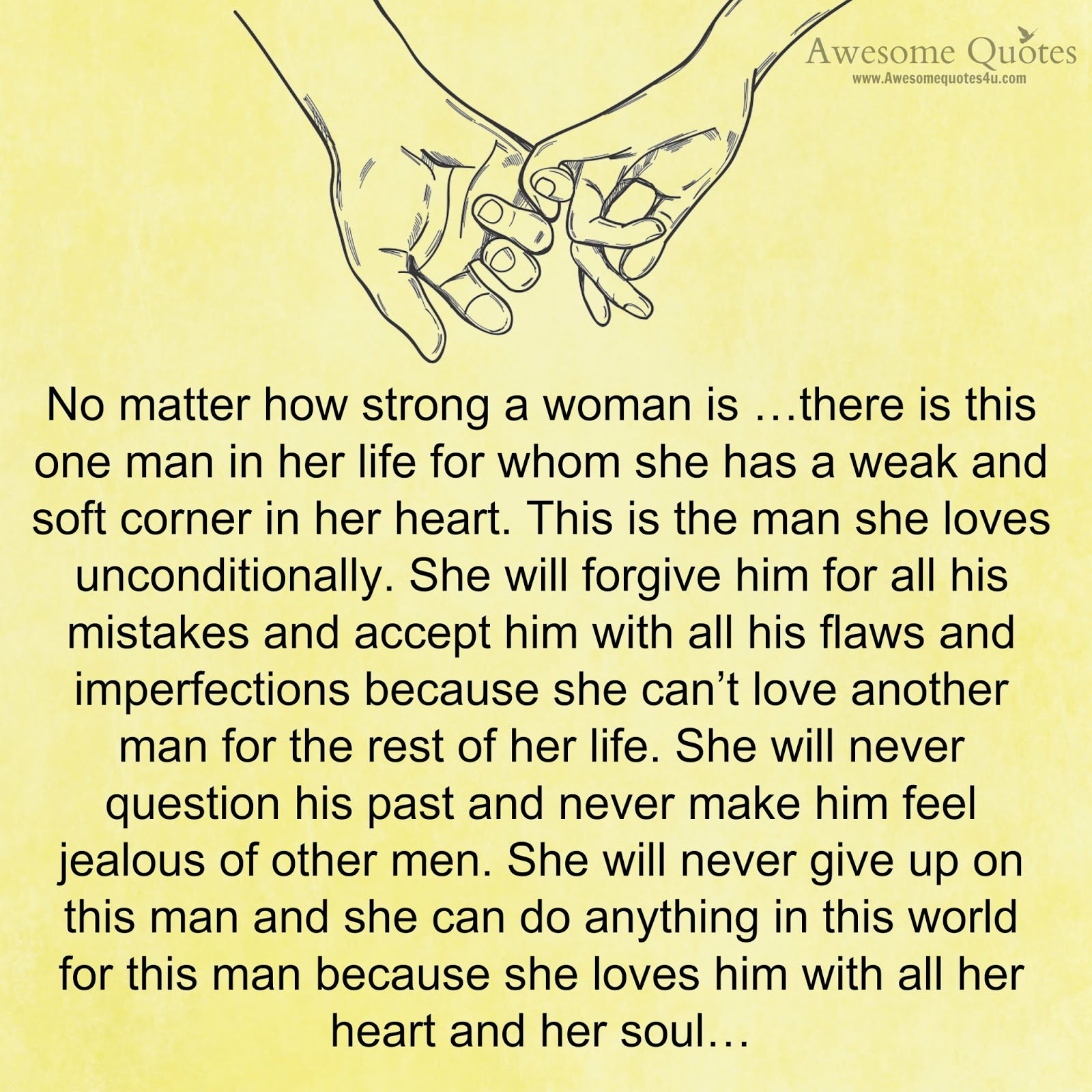 Awesome Quotes When A Woman Loves A Man