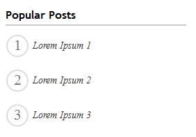 memasang popular post keren