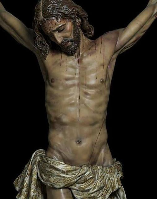El nuevo crucificado de Manuel Martín Nieto.