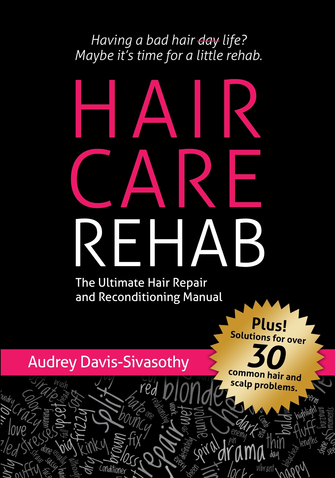 """A few months ago I started reading """"Hair Care Rehab: The Ultimate Hair  Repair & Reconditioning Manual"""" written by Audrey Davis-Sivasothy and got  sidetracked ..."""