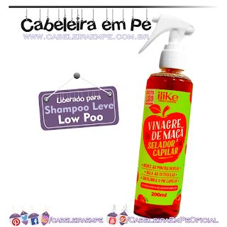 Spray Vinagre de Maça Selador Capilar - ILike (Low Poo)