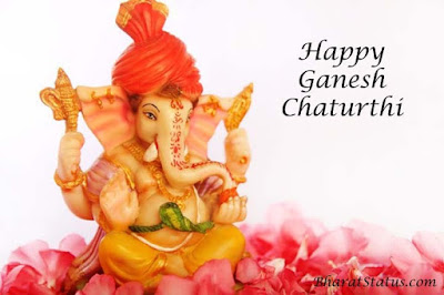 Ganesh chaturthi status or shayari in Hindi