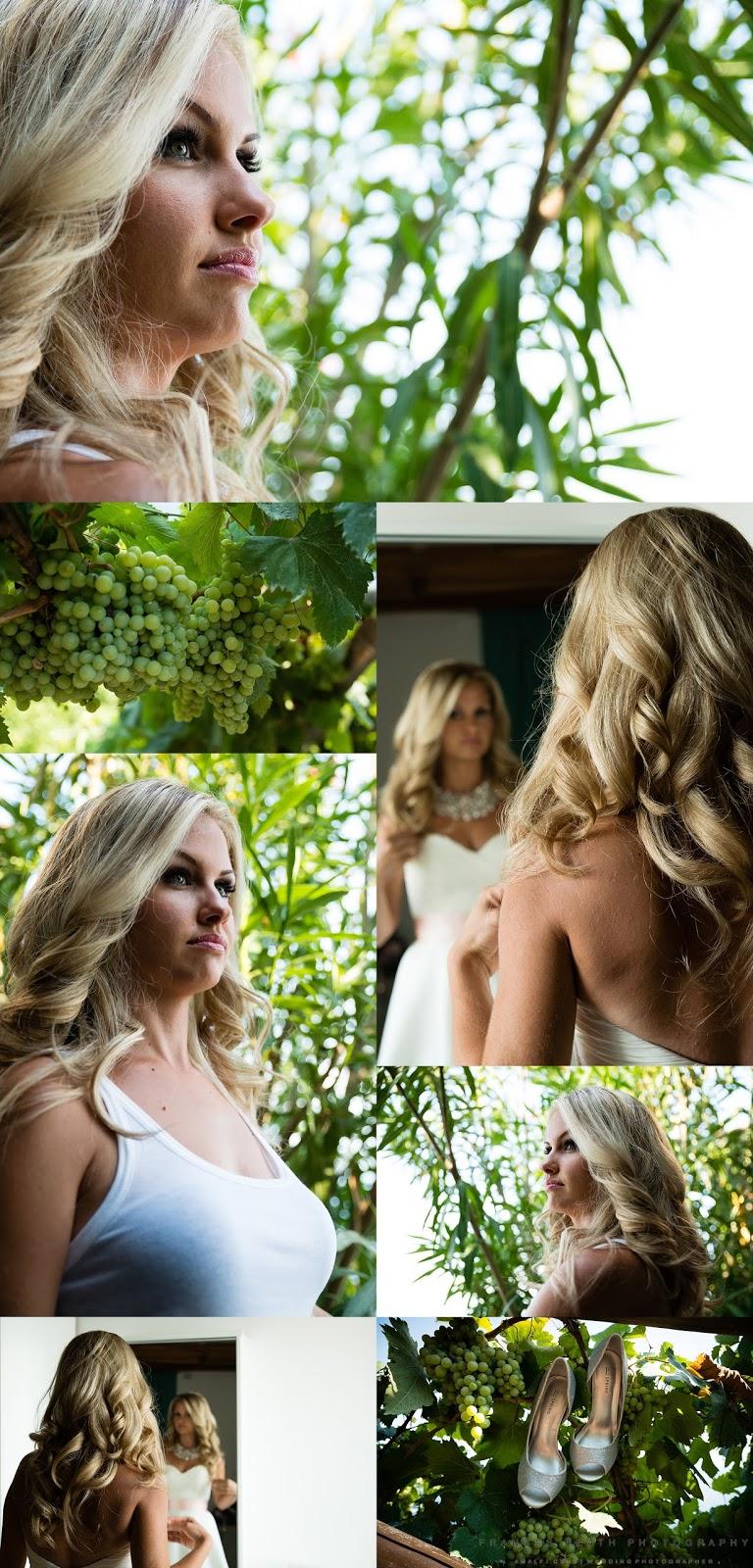 Bridal portraits in Ravello